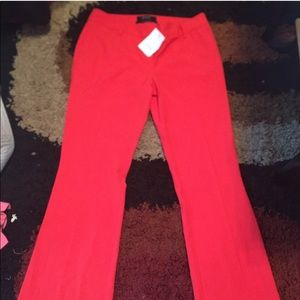 """Body by Victoria """"The Kate fit"""" red pants"""